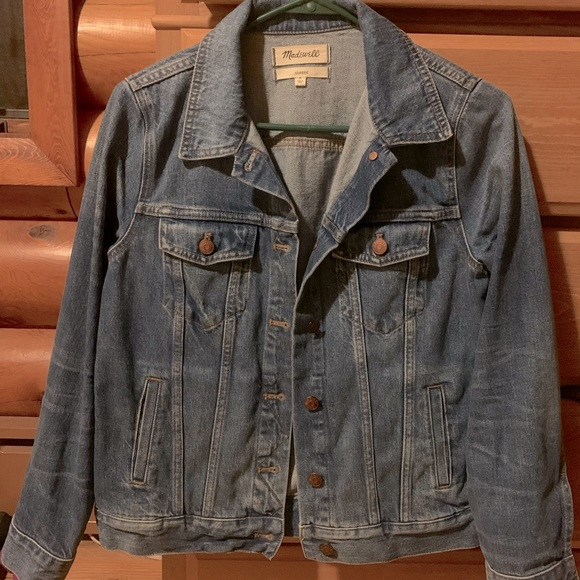 Madewell classic jean jacket.
